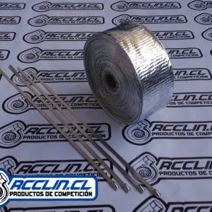 Cinta Térmica - Recubierta en Aluminio
